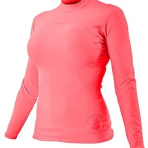 Body Glove Wetsuit Co Women's Smoothies Fitted Long Arm Rashguard