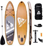 """ABYSUP Paddle Board, 10'6"""" Inflatable Paddle Board, SUP, Stand-Up Paddleboard with All Accessories & Carry Bag, Non-Slip Deck SUP Paddle Board, Anti-Sink Paddl&Pump Included"""