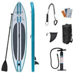 WEIFAN Inflatable Stand Up Paddleboards - SUP Rubber Paddle Board Professional Folding Surfboard Water Skiing Water Yoga Board Board Beginner's Surfboard Kit