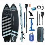 """Aquaplanet WINGTAIL Surf SUP Inflatable Stand Up Paddle Board Kit 