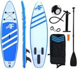 ALIFUN Inflatable Stand Up Paddle Board 10ft Sup Skill Sport with Non-Slip Deck Surf Board Blue 6 Inches Thickness Blue