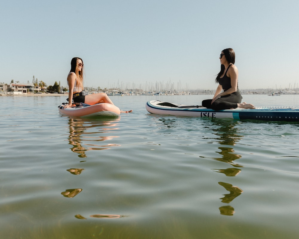 , The Finest Approach to Sit on a Paddle Board. Sure, sit. | ISLE